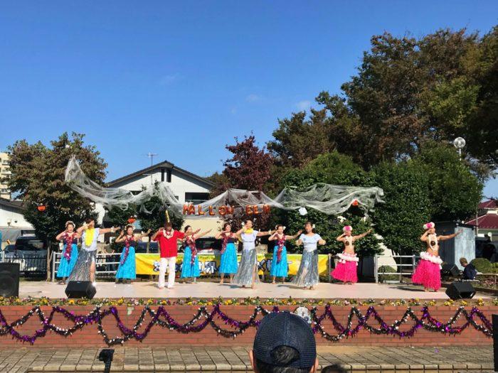 フラダンスやサンバのショー