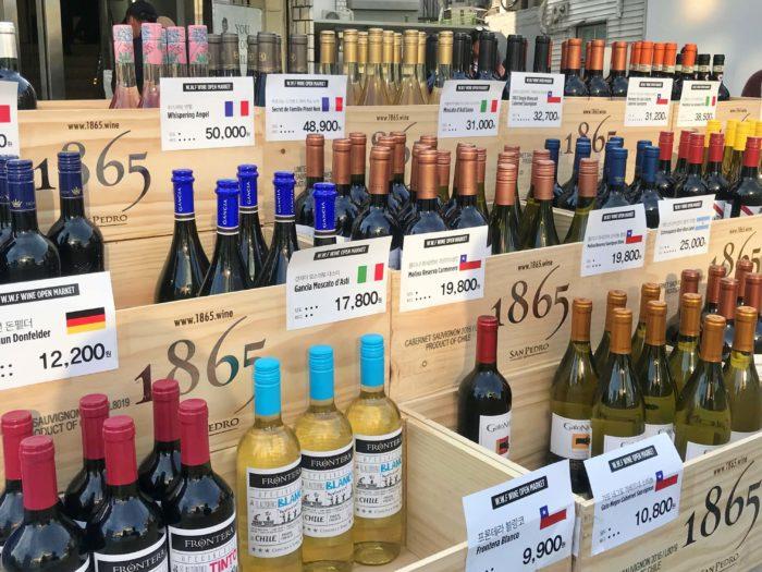 ワインの安売り
