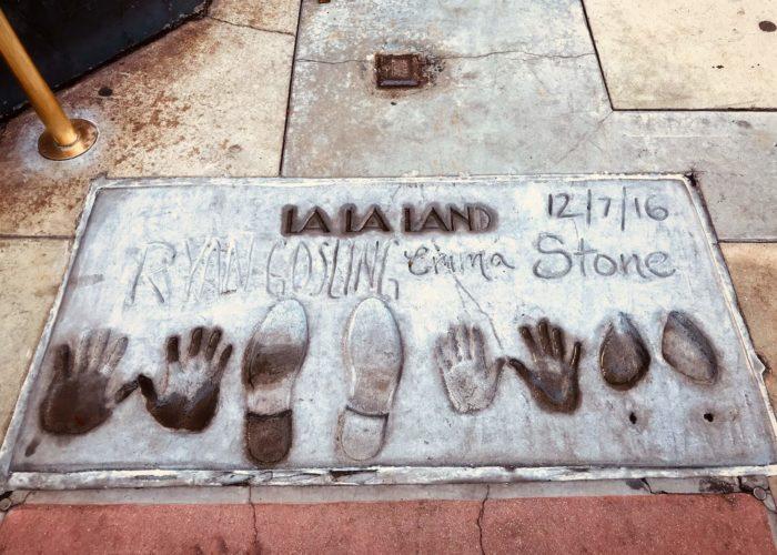 ライアンとエマの手形足形