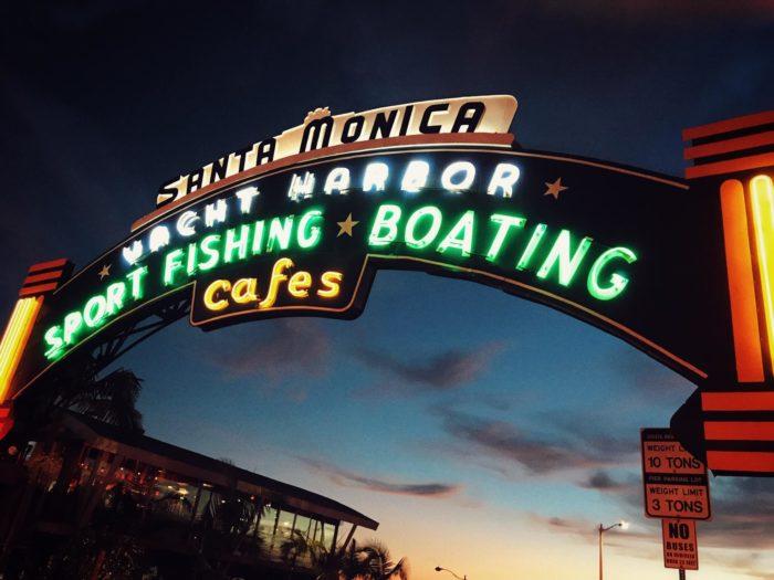 サンタモニカピアのゲート