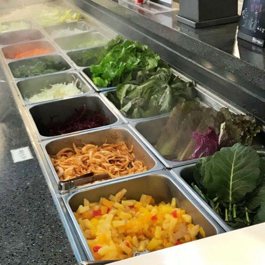 葉物野菜やフルーツ