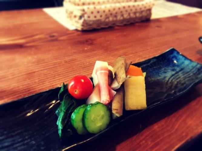 カラフルな野菜の盛り合わせ