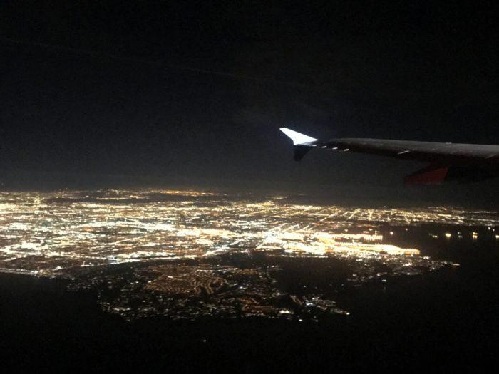 LAの夜景