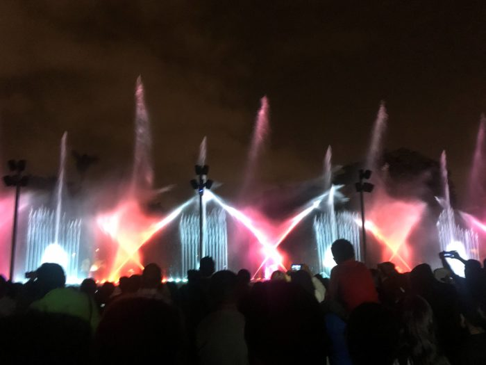 噴水ショー4