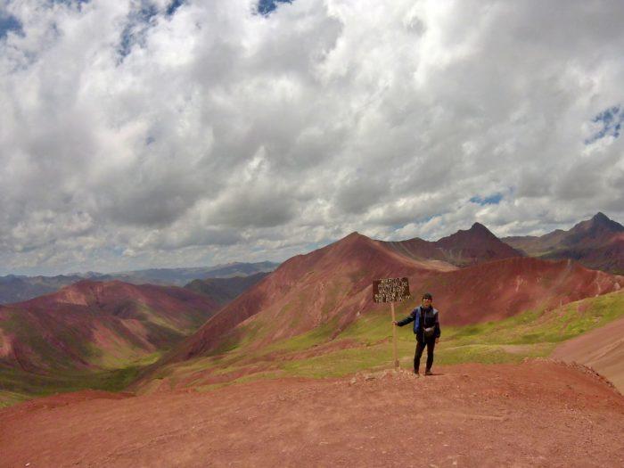 赤い谷と彼