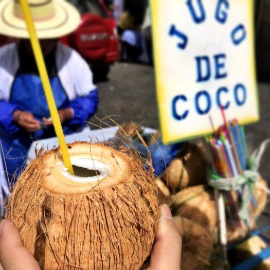 ココナッツのまるごとジュース