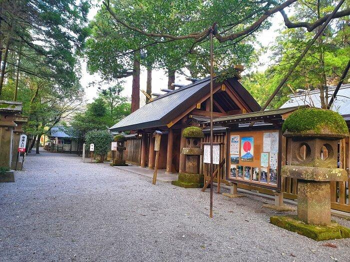 天岩戸神社 正面入り口