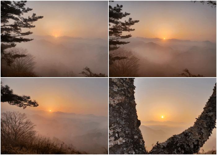 国見ケ丘からの日の出2