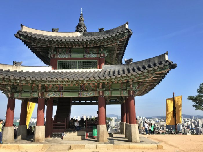 水原華城の将台