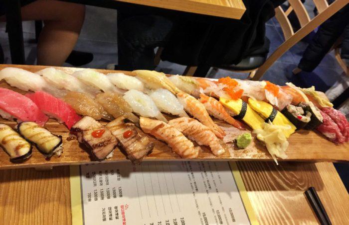 32貫のお寿司