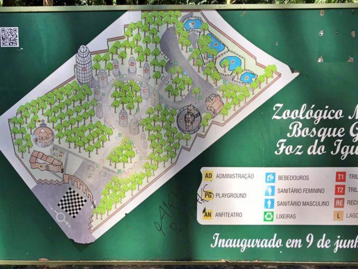 動物園の地図