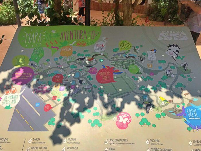 アーヴェス公園の地図