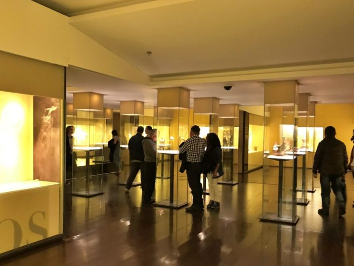 博物館の館内