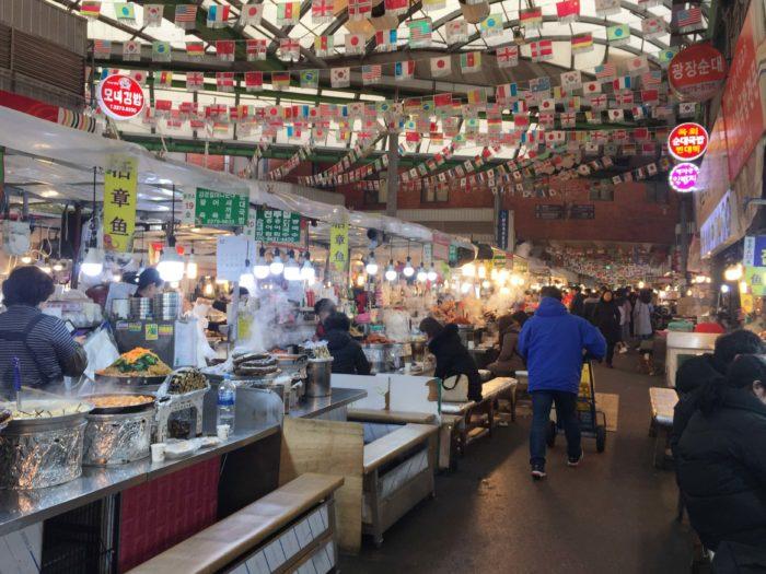 広蔵市場の風景1