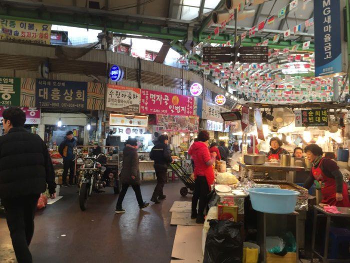 広蔵市場の風景2