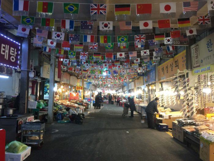 広蔵市場の風景3
