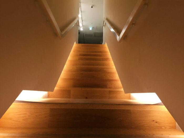 発酵の音が聞こえる階段