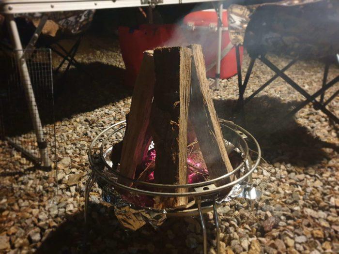 キャンプファイヤー1