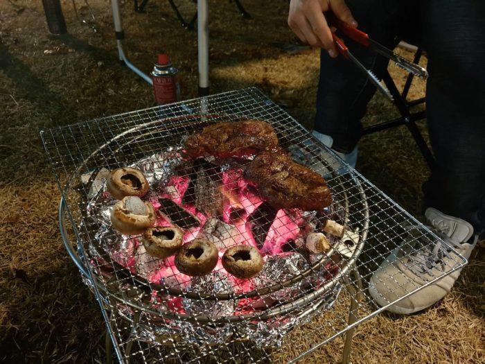 炭火ステーキ