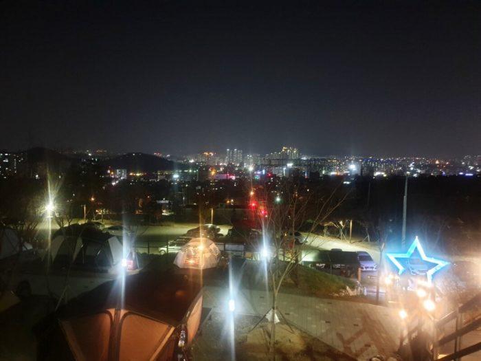 テグの夜景