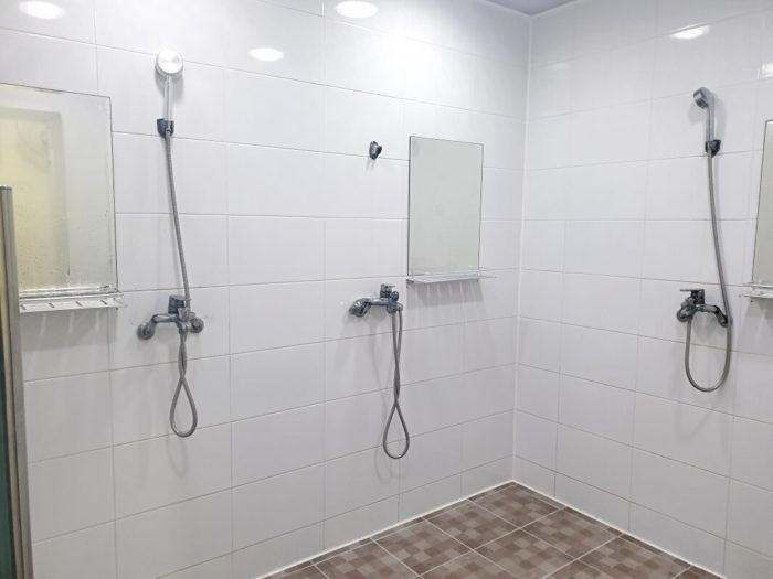 きれいなシャワー室