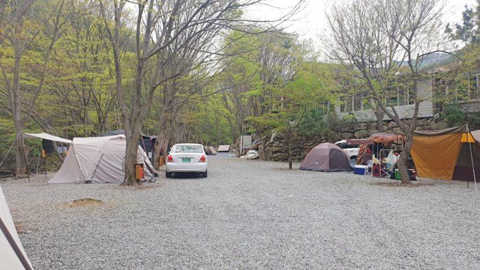 オートキャンプ用のサイト