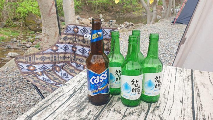 ビール1 ソジュ4