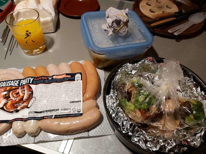 ディナーの準備