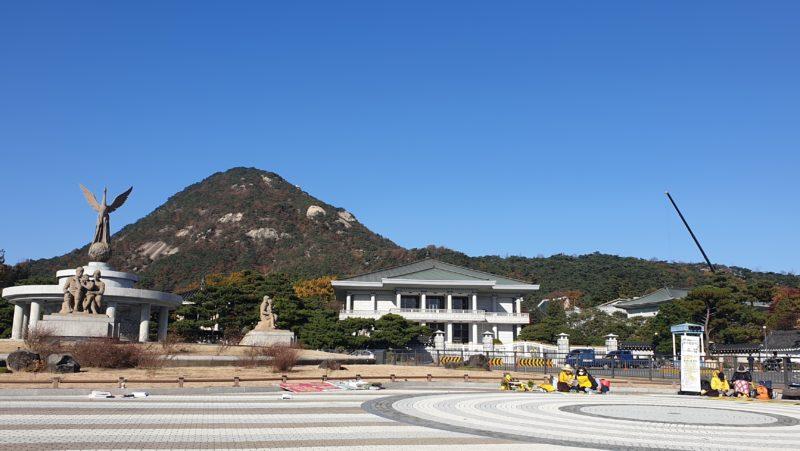 韓国の大統領官邸