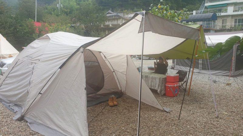 C11 テント完成