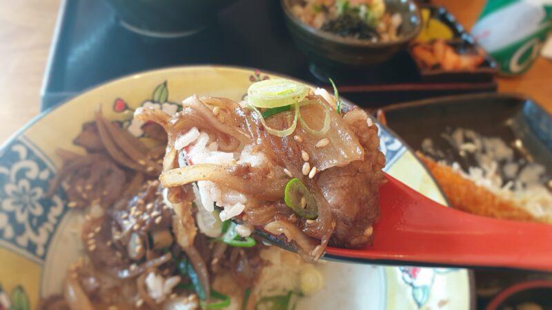 直火牛丼2
