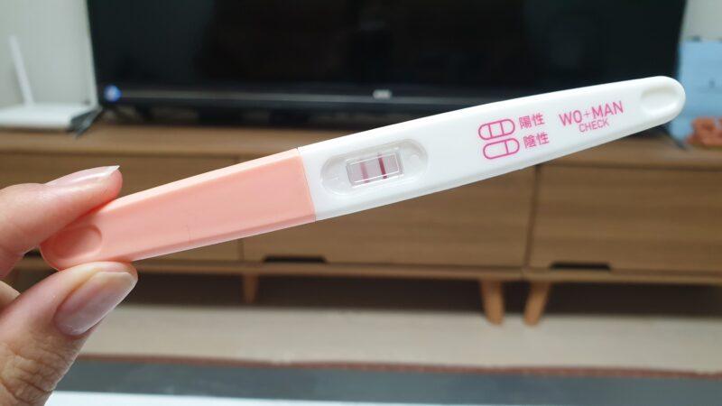 妊娠検査薬で陽性