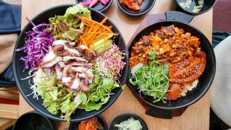 정원식탁 タコ丼とムルフェ